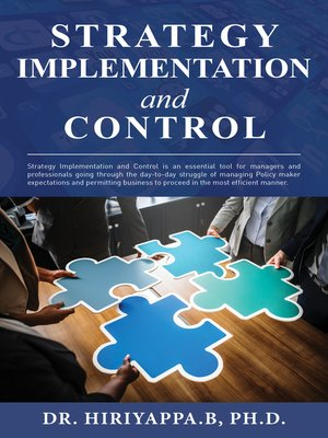 cover image of Strategy Implementation and Control