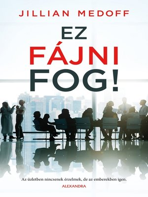cover image of Ez fájni fog