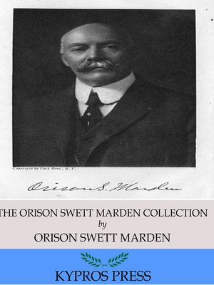 cover image of The Orison Swett Marden Collection