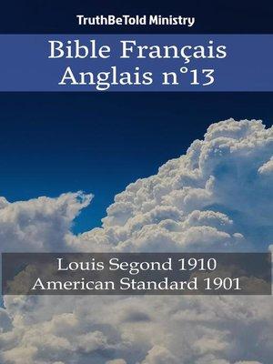cover image of Bible Français Anglais n°13