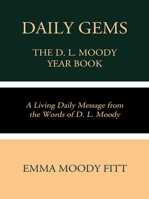cover image of Daily Gems: The D. L. Moody Year Book