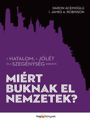 cover image of Miért buknak el nemzetek?