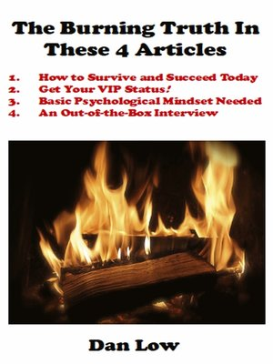 cover image of The Burning Truth In These 4 Articles
