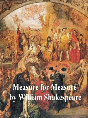 cover image of Measure for Measure, with line numbers