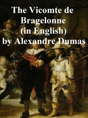 cover image of The Vicomte de Bragelone