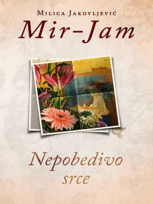 cover image of Nepobedivo srce
