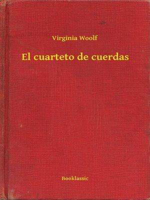 cover image of El cuarteto de cuerdas