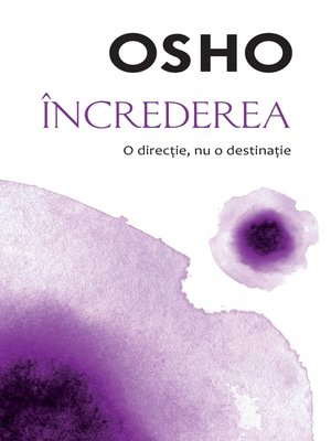 cover image of OSHO--Increderea