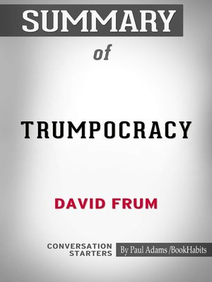 cover image of Summary of Trumpocracy: The Corruption of the American Republic