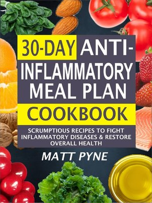 cover image of 30-Day Anti-Inflammatory Meal Plan Cookbook