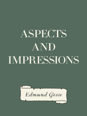 cover image of Aspects and Impressions