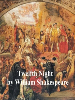 cover image of Twelfth Night, with line numbers