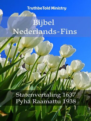 cover image of Bijbel Nederlands-Fins