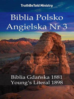 cover image of Biblia Polsko Angielska Nr3