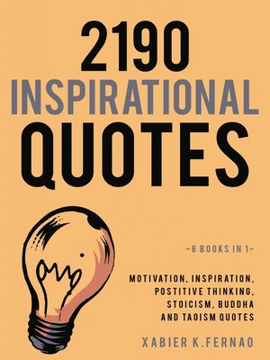 cover image of 2190 Inspirational Quotes