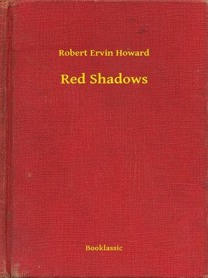cover image of Red Shadows