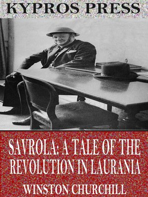 cover image of Savrola: A Tale of the Revolution in Laurania