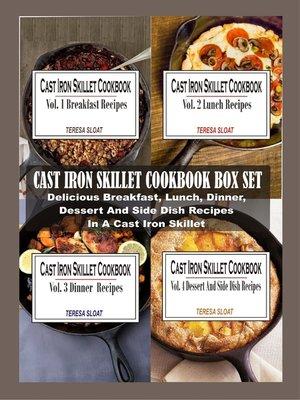 cover image of Cast Iron Skillet Cookbook Box Set