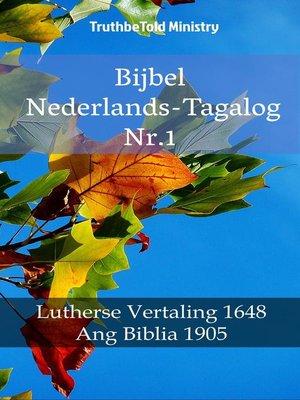 cover image of Bijbel Nederlands-Tagalog Nr.1