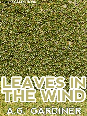 cover image of Leaves In The Wind
