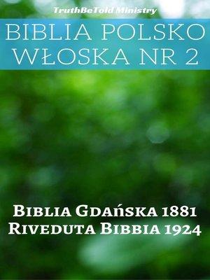 cover image of Biblia Polsko Włoska Nr 2