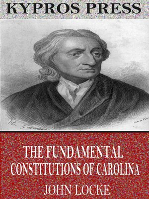 cover image of The Fundamental Constitutions of Carolina