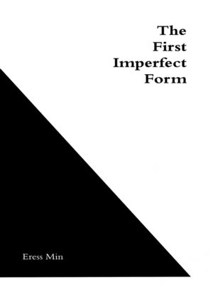cover image of The First Imperfect Form
