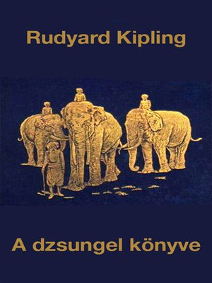 cover image of A dzsungel könyve