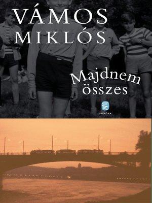 cover image of Majdnem összes