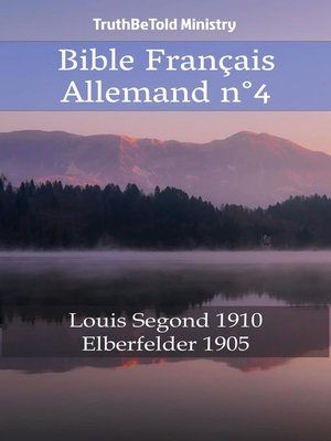 cover image of Bible Français Allemand n°4