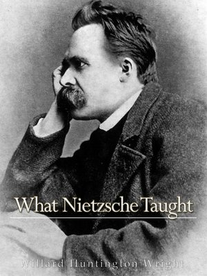 cover image of What Nietzsche Taught