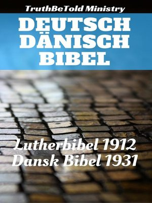 cover image of Deutsch Dänisch Bibel