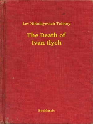 cover image of The Death of Ivan Ilych