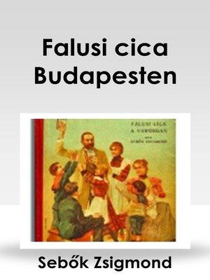 cover image of Falusi cica Budapesten