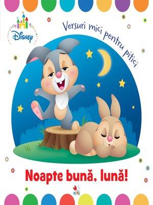 cover image of Noapte buna, luna!