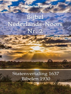 cover image of Bijbel Nederlands-Noors Nr. 2