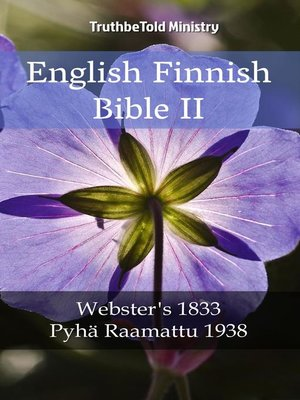 cover image of English Finnish Bible II