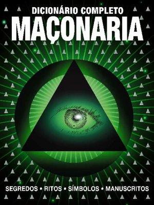cover image of Dicionário Completo Maçonaria
