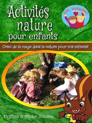 cover image of Activités nature pour enfants