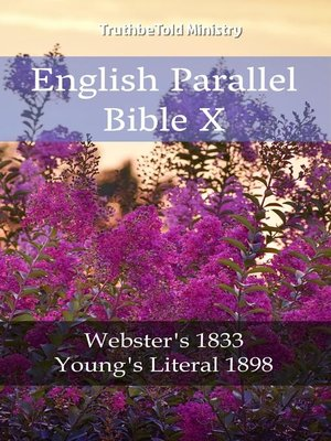 cover image of English Parallel Bible X