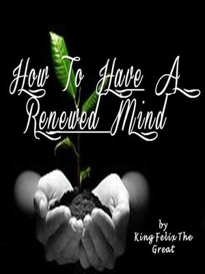 cover image of How to Have a Renewed Mind