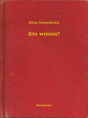 cover image of Kto winien?