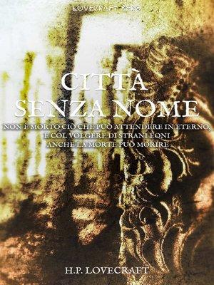 cover image of Città senza nome