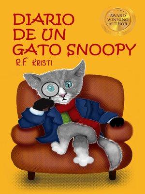 cover image of Diario De Un Gato Snoopy