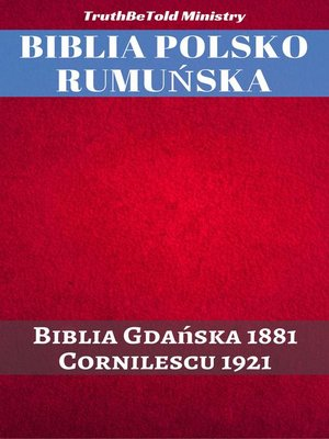 cover image of Biblia Polsko Rumuńska