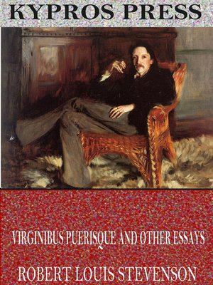 cover image of Virginibus Puerisque and Other Essays