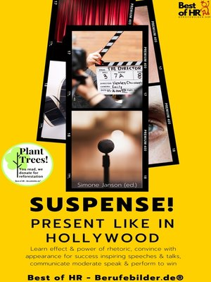 cover image of Suspense! Present like in Hollywood