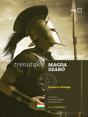 cover image of Trenutak
