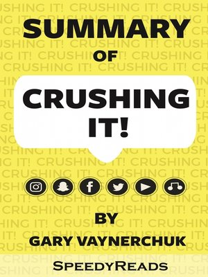 cover image of Summary of Crushing It!