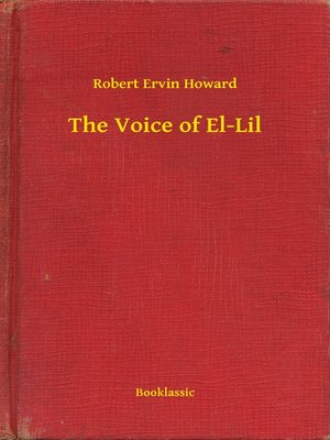 cover image of The Voice of El-Lil